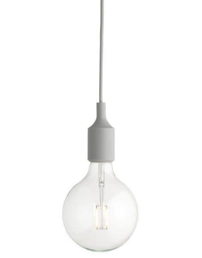 MUUTO MUUTO E27 HANGLAMP LICHT GRIJS LED