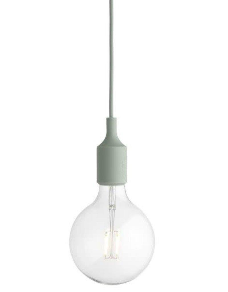 MUUTO MUUTO E27 HANGLAMP LICHT GROEN LED