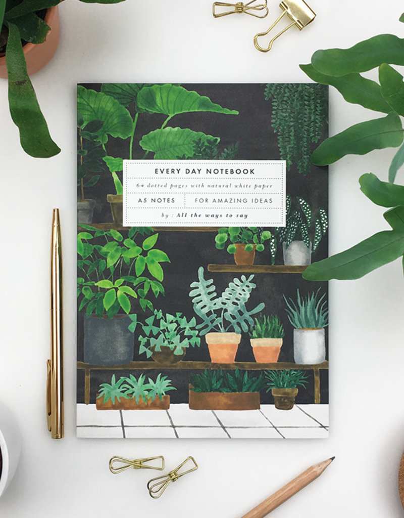 ALL THE WAYS TO SAY ATWTS NOTEBOOK A5 PLANT SHOP