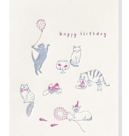 PAPETTE BDAY THE CATS