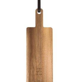 ZUSSS Zusss houten serveerplank 30x14cm