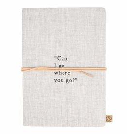 ZUSSS Zusss notitieboek can I go linnen