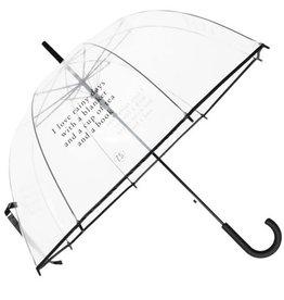 ZUSSS Zusss paraplu I love rainy days