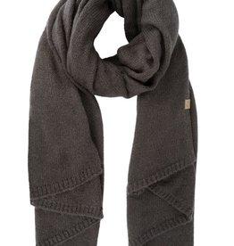 ZUSSS Zusss warme brei sjaal grafiet