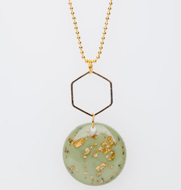 MON ONCLE MON ONCLE MARB KETTING GOLDFLAKE GREEN