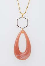 MON ONCLE MON ONCLE MARB KETTING PINK DROP