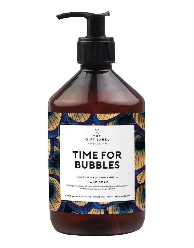 THE GIFT LABEL GIFT LABEL HAND SOAP TIME FOR BUBBLES