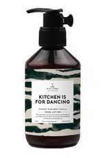THE GIFT LABEL GIFT LABEL HAND LOTION KITCHEN IS FOR DANCING