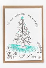 STUDIO FLASH FLASH XMAS JOLLY CHRISTMAS TREE IRONY