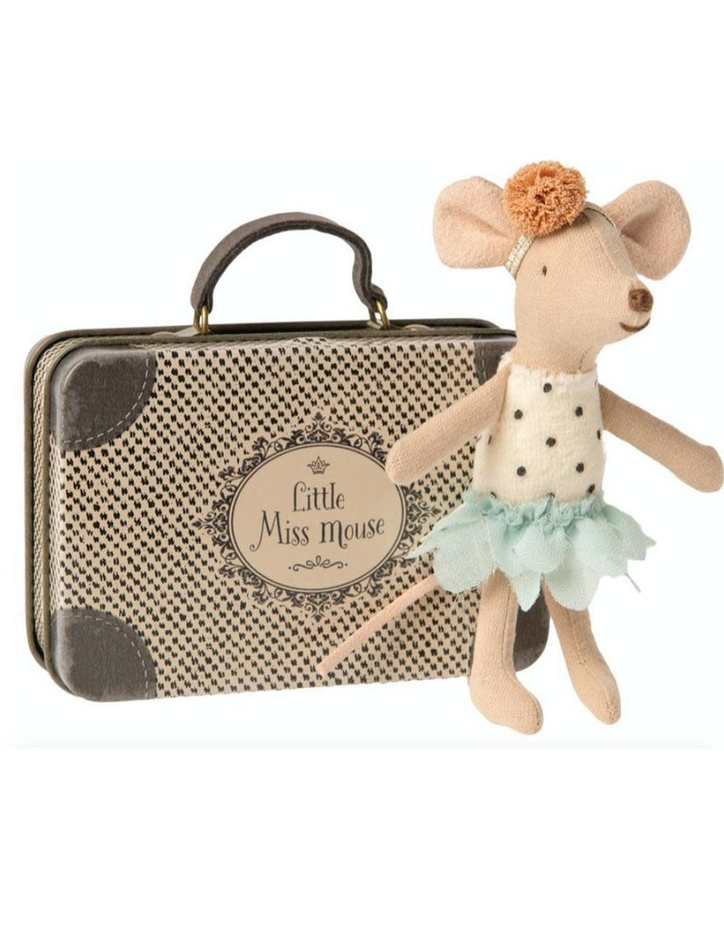MAILEG MAILEG LITTLE MISS MOUSE IN SUITCASE