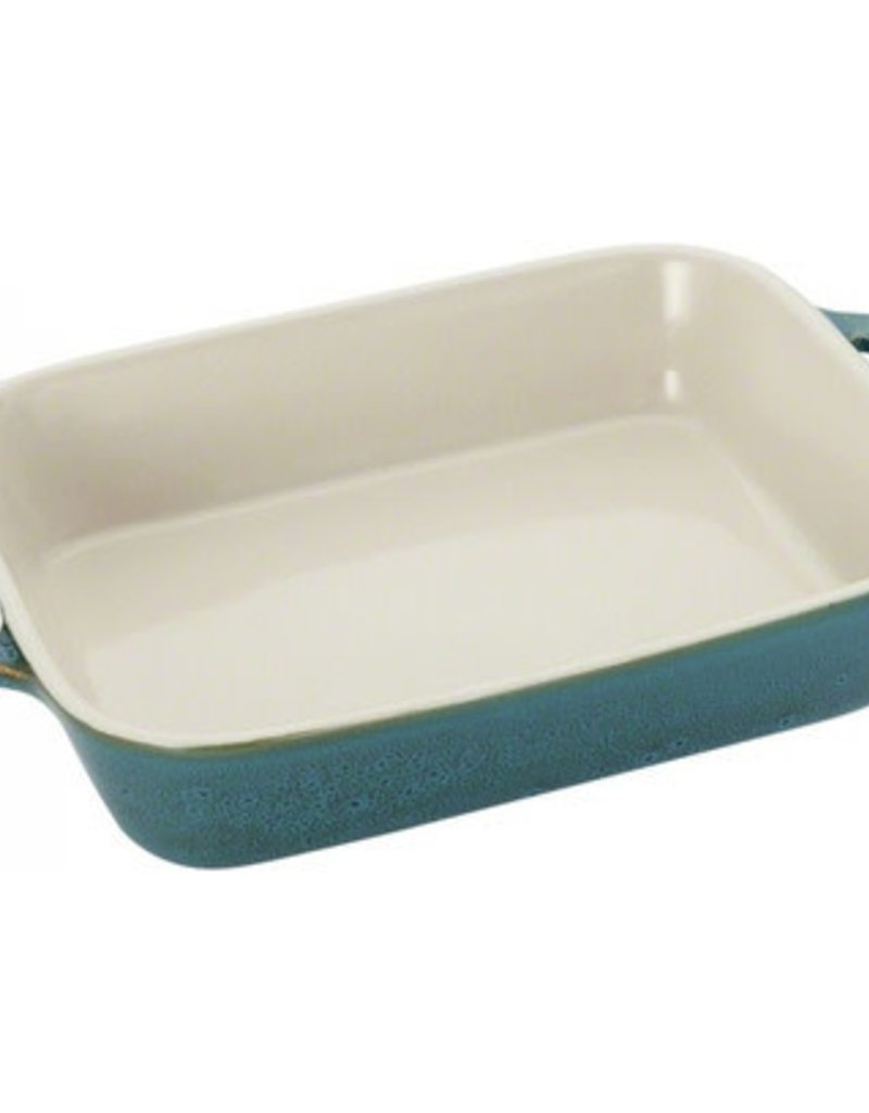 STAUB STAUB OVENSCHAAL 20X16 ANCIENT TURQUOISE