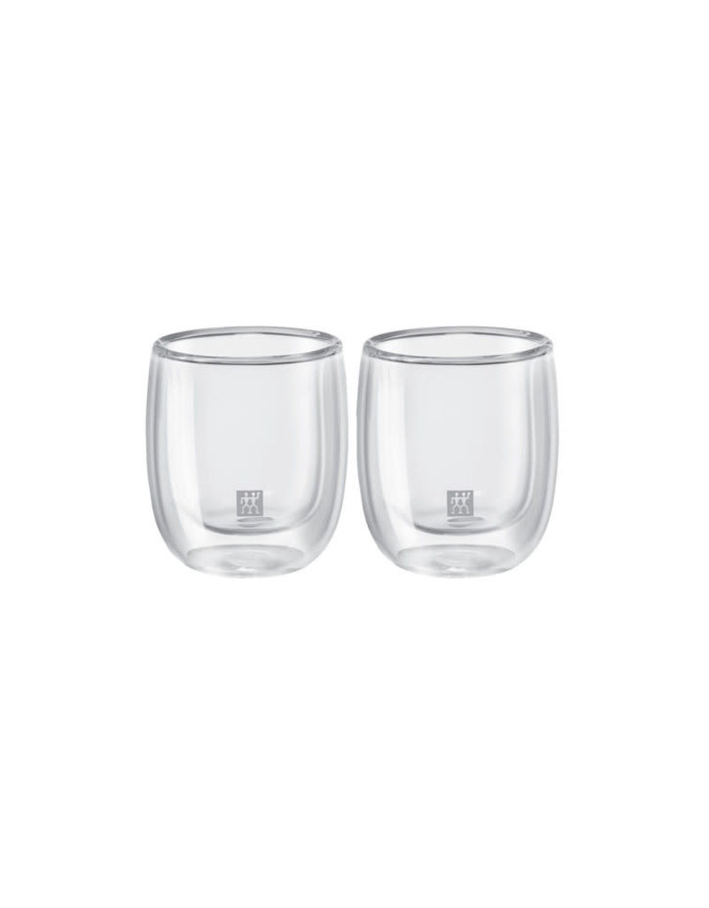 ZWILLING ZWIL DUBBELWANDIG GLAS ESPRESSO SET 2