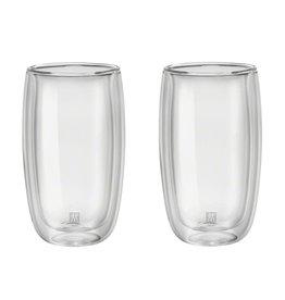 ZWILLING ZWILLING DUBBELWANDIG GLAS LATTE SET 2