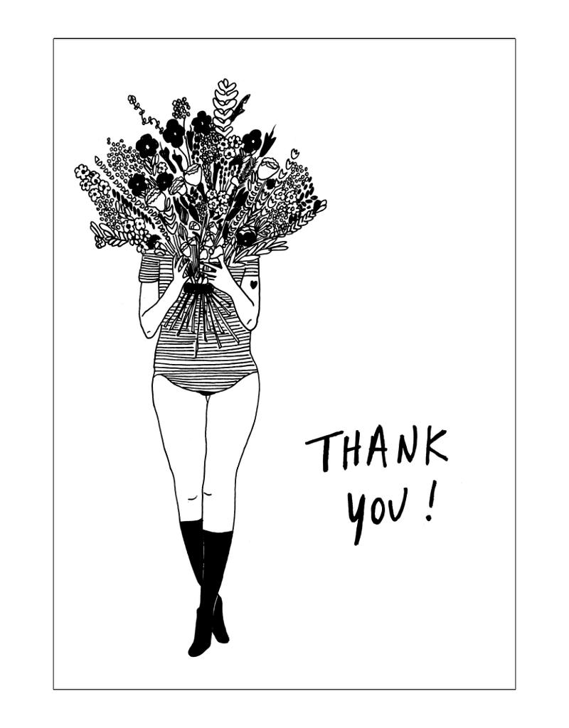 HELEN B HELEN B KAARTJE FLOWER GIRL THANK YOU