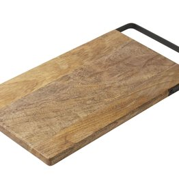 GUSTA GUSTA Mango serveerplank met hendel 40x20