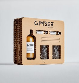 GIMBER GIMBER GIFT BOX BOTTLE+2X2CL+2 GLASS