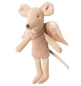 MAILEG MAILEG FAIRY MOUSE LITTLE PINK