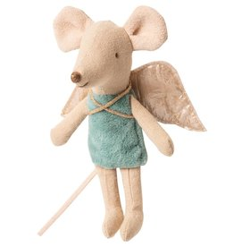 MAILEG MAILEG FAIRY MOUSE LITTLE BLUE