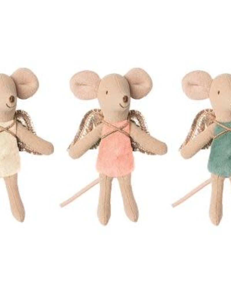 MAILEG MAILEG FAIRY MOUSE LITTLE YELLOW