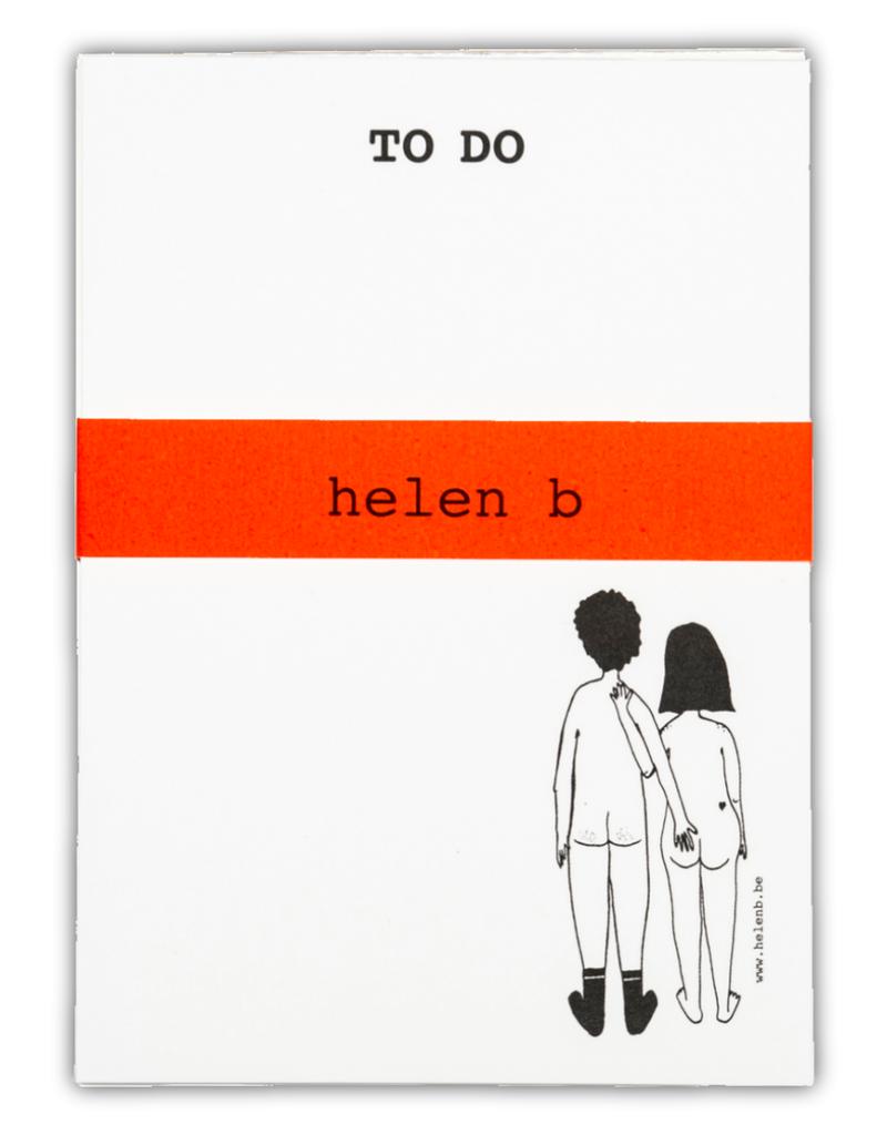HELEN B HELEN B BLOCNOTE NAKED COUPLE BACK