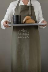 ZUSSS Zusss keukenschort collect moments donkergroen