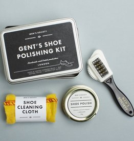MEN'S SOCIETY MEN'S SOCIETY SHOE POLISHING KIT