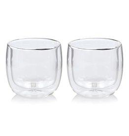 ZWILLING ZWIL DUBBELWANDIG GLAS THEE SET 2