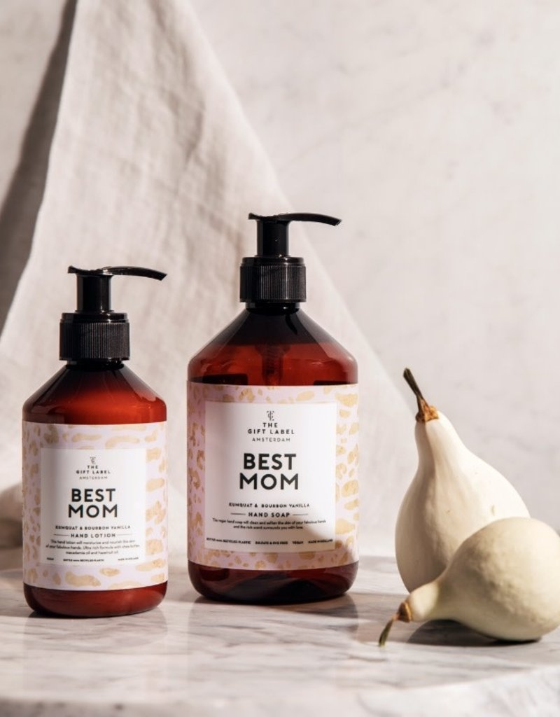 THE GIFT LABEL THE GIFT LABEL HAND SOAP BEST MOM