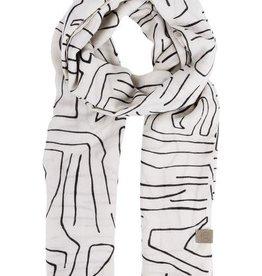 ZUSSS Zusss sjaal met safaripint zand