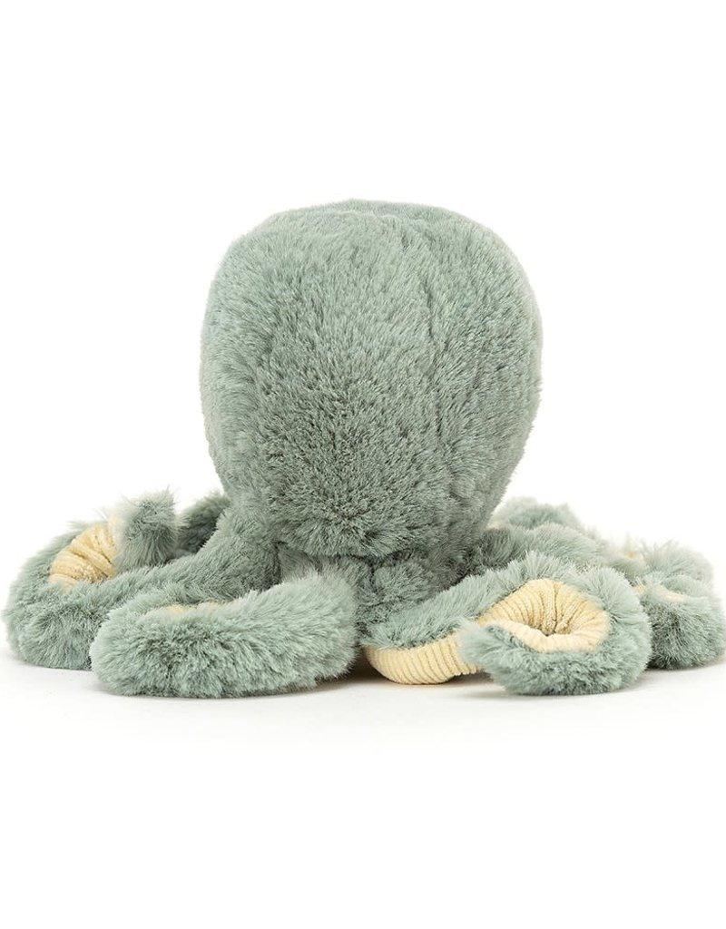 JELLYCAT JELLYCAT GREEN OCTOPUS BABY ODYSSEY