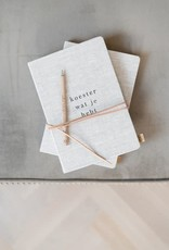 ZUSSS Zusss notitieboek koester linnen