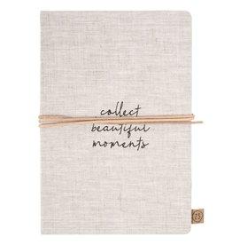 ZUSSS Zusss notitieboek collect moments linnen