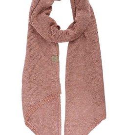 ZUSSS Zusss luchtig gebreide sjaal rouge