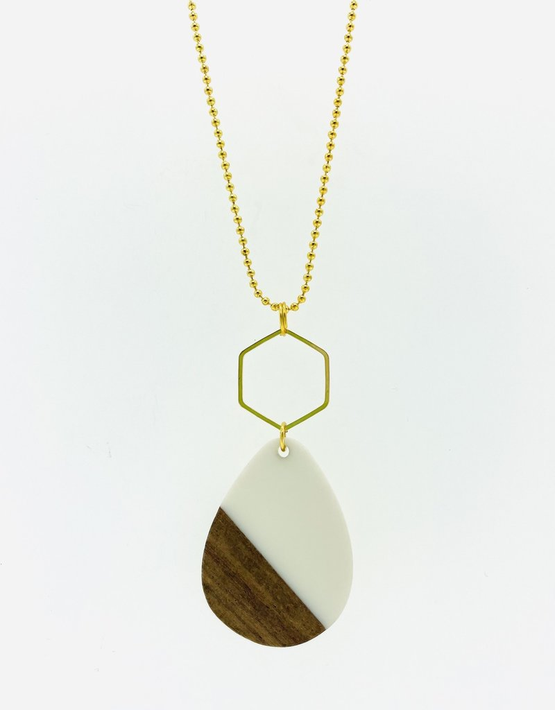 MON ONCLE MON ONCLE WOOD KETTING WHITE