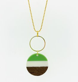 MON ONCLE MON ONCLE WOOD KETTING WHITE GREEN