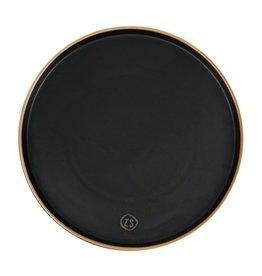 ZUSSS Zusss dinerbord aardewerk zwart