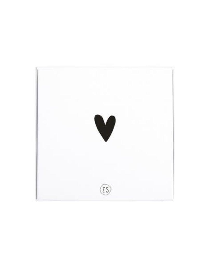 ZUSSS Zusss giftbox met douchegel en lotion hartje