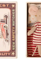 MAILEG MAILEG BIG SISTER MOUSE IN MATCHBOX