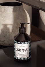 THE GIFT LABEL THE GIFT LABEL HAND SOAP CLEAN HANDS DIRTY MINDS