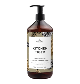 THE GIFT LABEL THE GIFT LABEL KITCHEN CLEANING SOAP TIGER