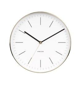 KARLSSON WALL CLOCK MINIMAL WHITE