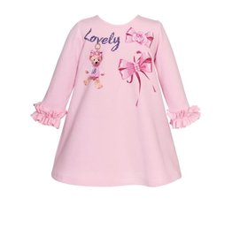 "Balloon Chic Jurk ""Lovely"" roze"