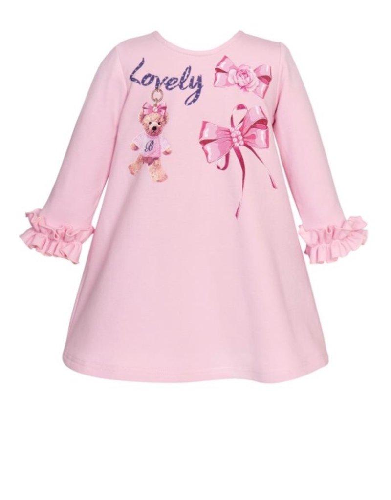 "Balloon Chic Jurk ""Lovely"" roze"