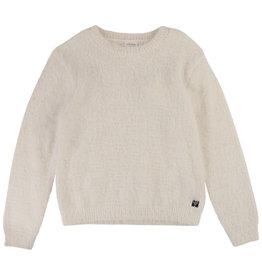 """Carrément Beau Sweater """"Teddy"""" gebroken wit"""