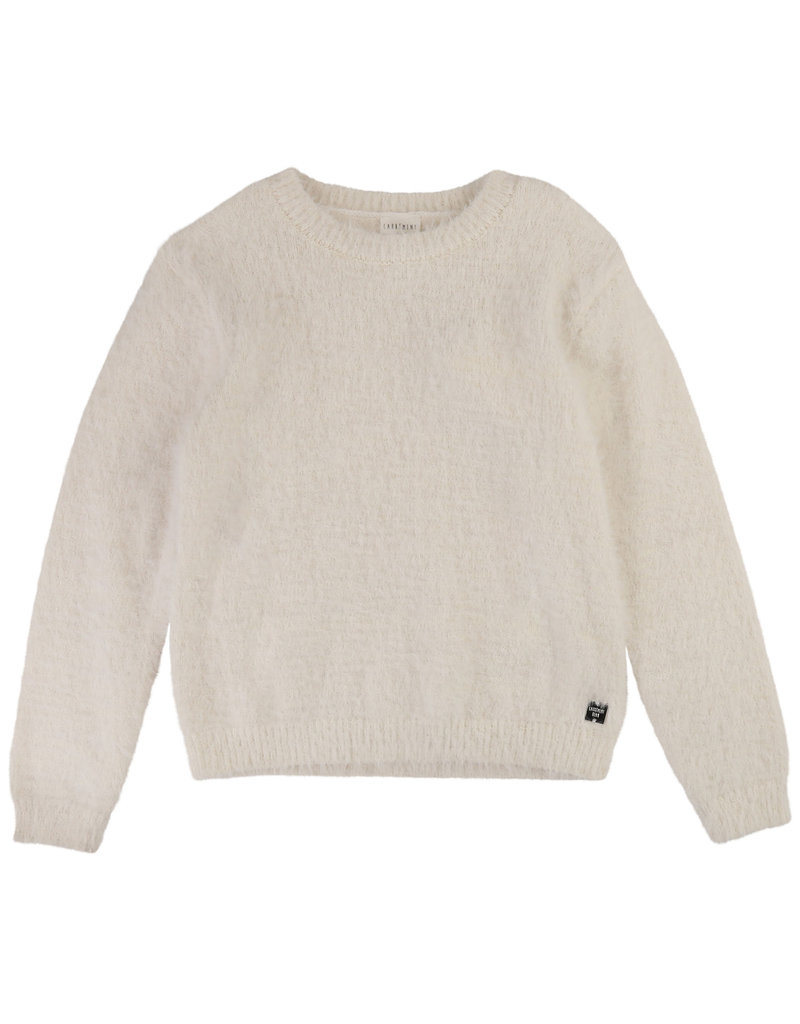"Carrément Beau Sweater ""Teddy"" gebroken wit"
