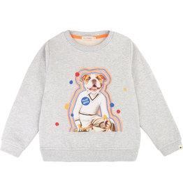 "Billybandit Sweater ""Dog"" grijs"