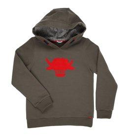"Gymp Sweater hoodie ""Rebel"" khaki"