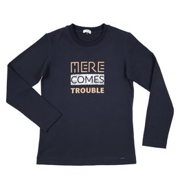 "Gymp Longsleeve ""Here Comes Trouble"""