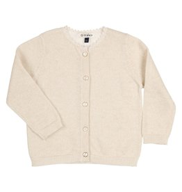 Gymp Cardigan knitted goud