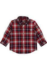 Timberland Hemd geruit rood/blauw